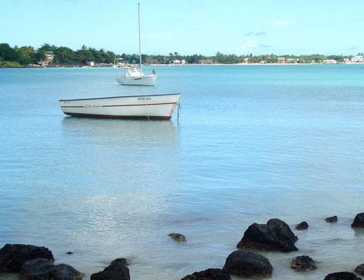 petits bateaux à l'ile maurice