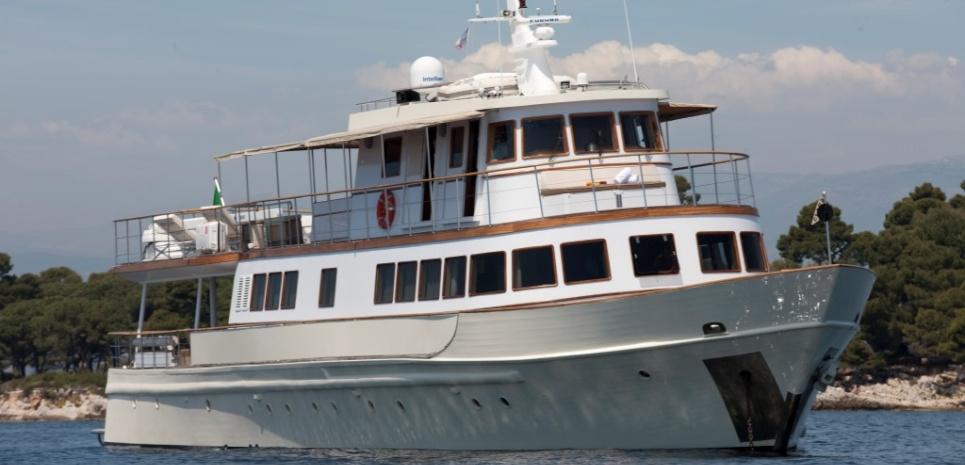 location yacht événement