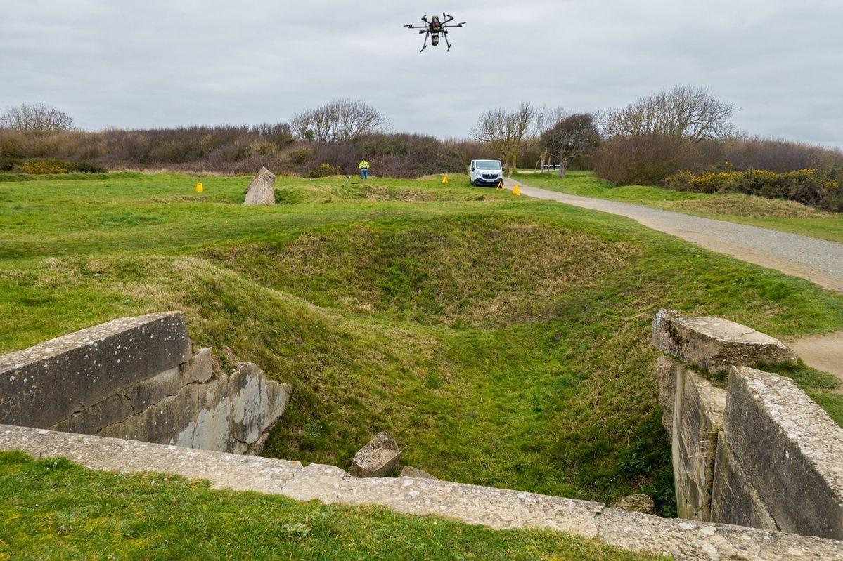 Une meilleure prise de vue sur vos terrains avec lidar drone